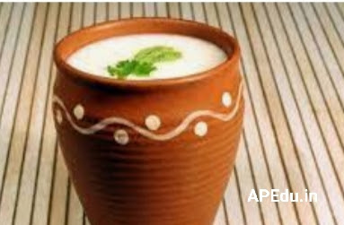 The use of buttermilk in ancient India