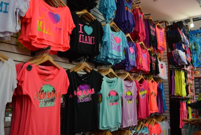 Loja de presentes e souvenirs Miami Souvenirs em Miami