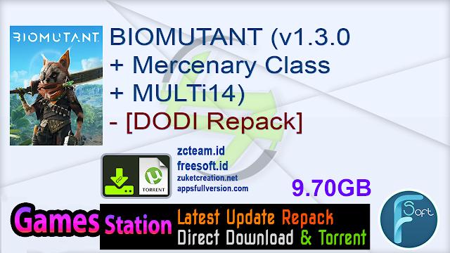 BIOMUTANT (v1.3.0 + Mercenary Class + MULTi14) – [DODI Repack]