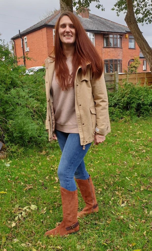 Blogger Sim from Sim's Life in a pair of Hotter boots: most favourite post in the #WowOnWednesday link up at style blog Is This Mutton?