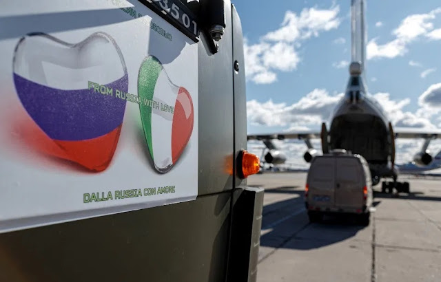 Russia demands favors from Italy in exchange for coronavirus assistance