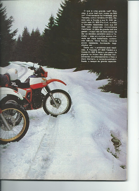 MS04 - Yamaha XT600 x Honda XL600 - O DUELO