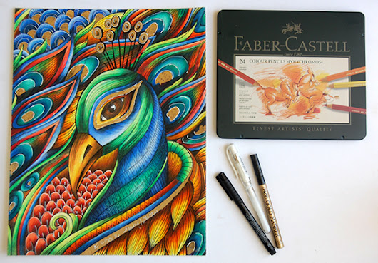 Coloring Review #1 Faber-Castell Polychromos