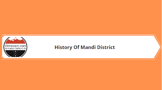 History of Mandi District