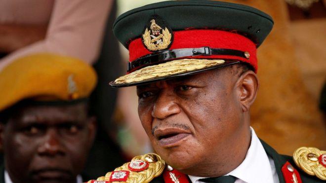 Zimbabwe takeover leader Chiwenga named Mnangagwa's deputy