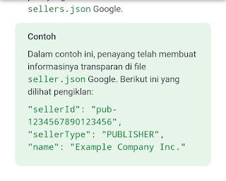 Contoh seller.json