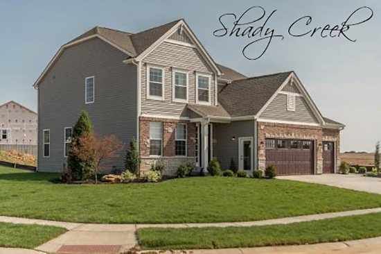 Homes at Shady Creek in O'Fallon