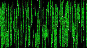 cara membuat efek kode Matrix
