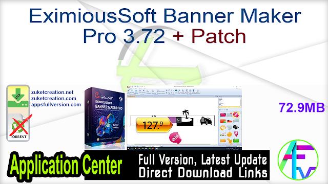 EximiousSoft Banner Maker Pro 3.72 + Patch