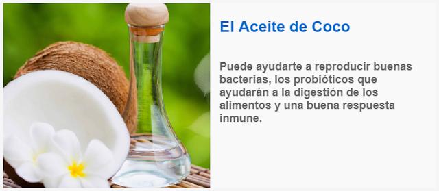 El Aceite de Coco, puede ayudarte a reproducir buenas bacterias