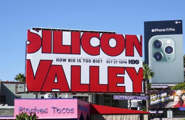 Silicon Valley final season 6 billboard