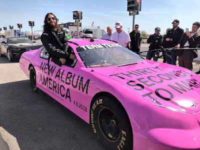 "Jared Leto's ""Mars Across America"" Journey Makes Pit Stop at Texas Motor Speedway"
