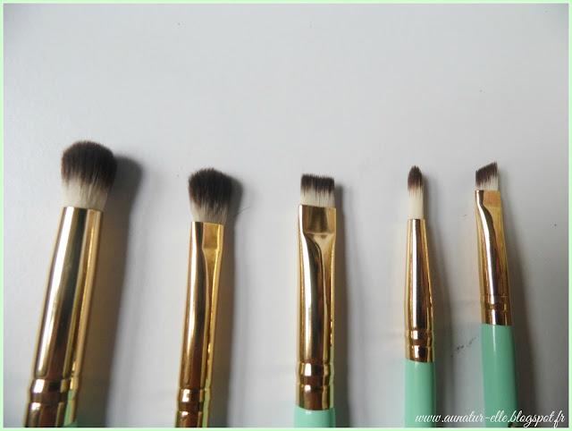 pinceaux maquillage pour les yeux