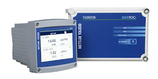 TOC total organic carbon analyzer with user interface and transmitter