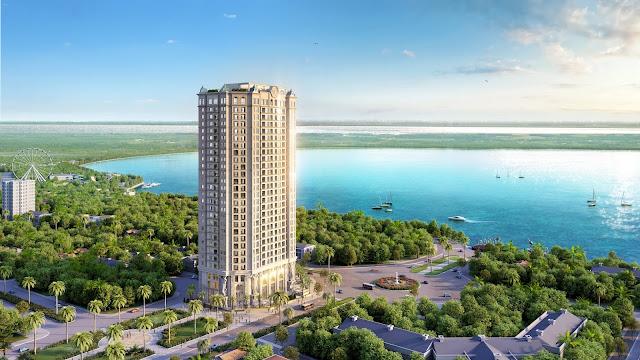 Phối cảnh tổng thể dự án chung cư D'el Dorado Premium