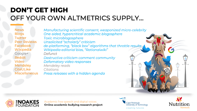 DON'T GET HIGH OFF YOUR OWN ALTMETRICS SUPPLY…