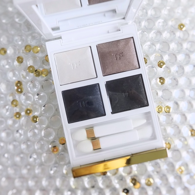 Tom Ford Soleil Eye Color Quad Soleil Neige (01) review swatch