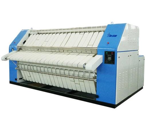 Máy là lô công nghiệp cho xưởng giặt