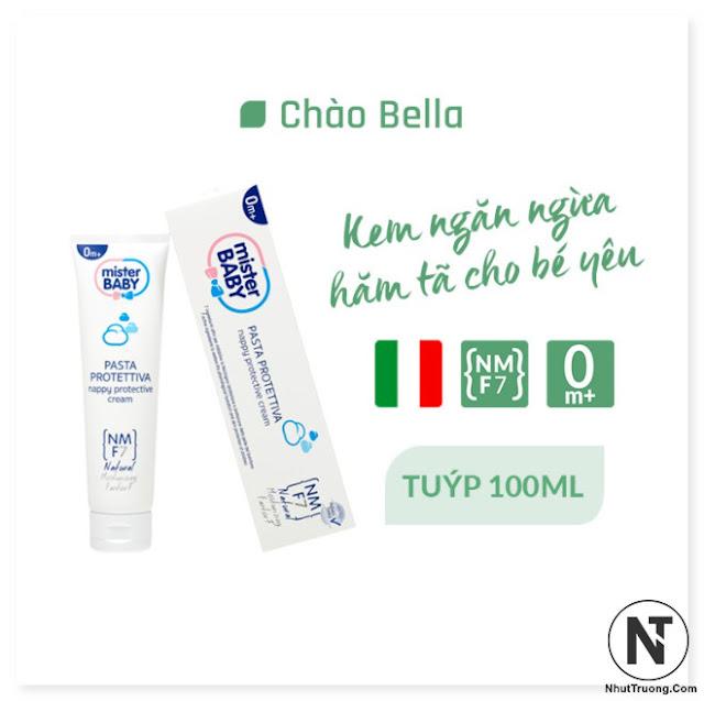 Kem Chống và Trị Hăm Cho Bé Yêu Mister Baby Nappy Protective Cream 100ml