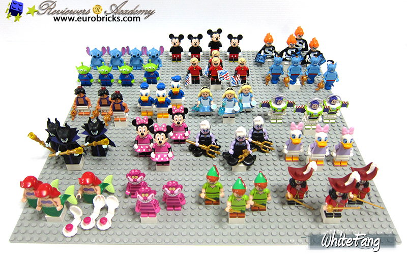 lego minifigures series 4 rarity guide