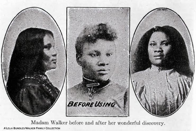 La historia de Madam C. J. Walker