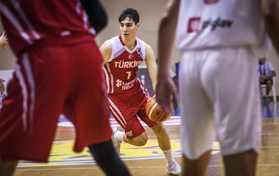 FIBA U18 Europe - Türkiye - Sırbistan - Ömercan Ilyasoğlu