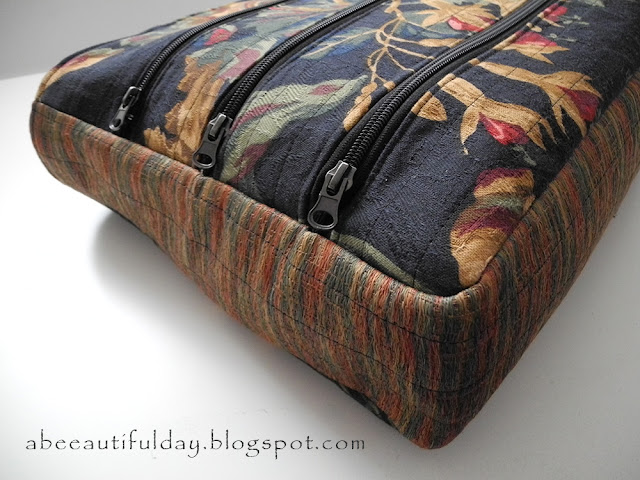 Two tips for those who sew bags - abeeautifulday.blogspot.com