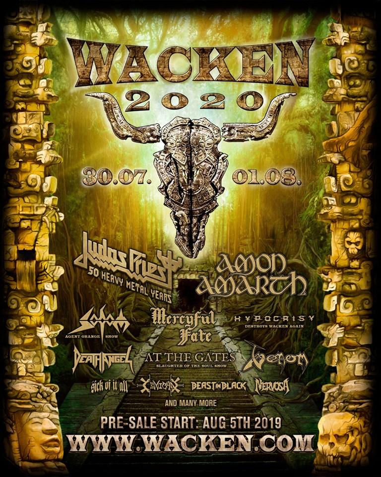 Wacken 2020 Line Up