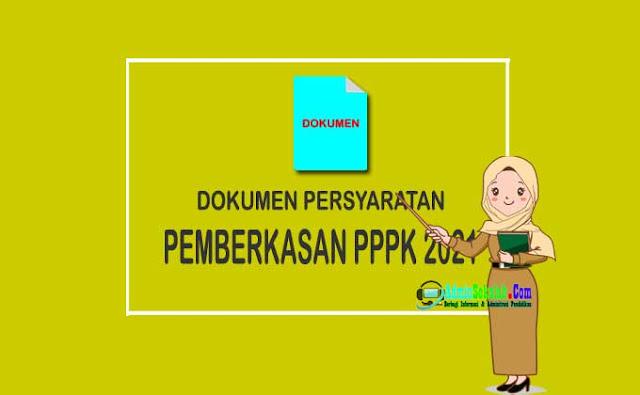 Jadwal dan Dokumen Permberkasan PPPK Guru 2021
