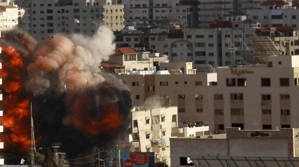 Lebih dari 52.000 Warga Gaza Mengungsi Akibat Gempuran Israel
