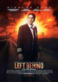 Left Behind (2014) English Movie Poster
