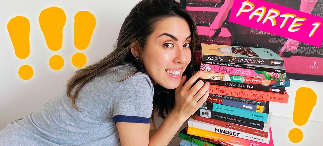 Caixa do correio: livros recebidos em janeiro e fevereiro #bookhaul #inmymailbox