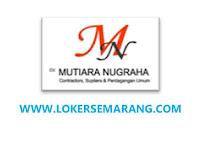 Lowongan Kerja Semarang Staf Arsitek di CV Mutiara Nugraha