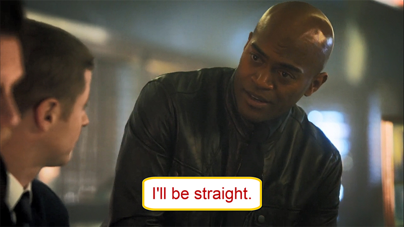 Arti I'll Be Straight