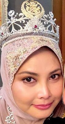 diamond tiara terengganu malaysia queen sultanah nur zahirah ruby