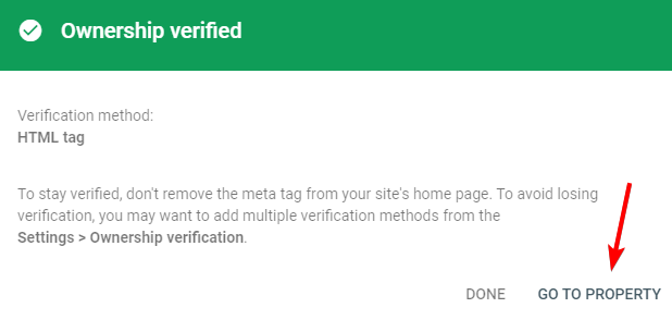ownership-verified-with-HTML-tag-verification-method-in-google-search-console