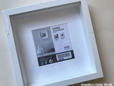 Empty Ribba frame from Ikea