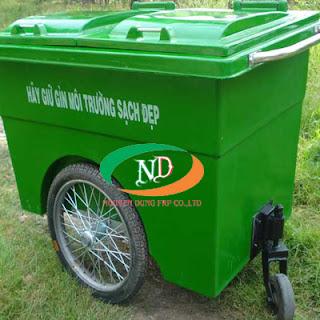 bán thùng rác nhựa công công giá rẻ chất lượng