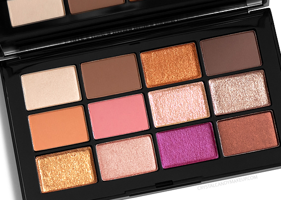 NARS Afterglow Eyeshadow Palette Review Photos