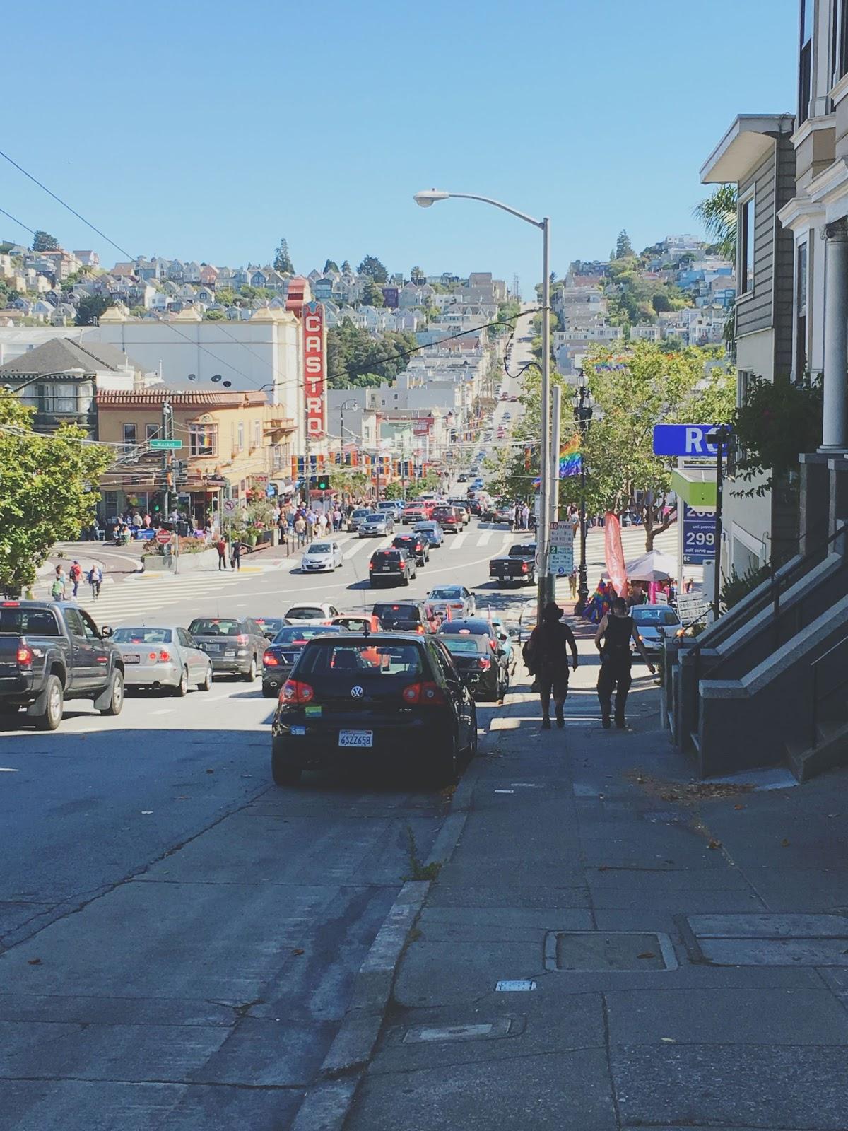 Castro Street in San Francisco, California