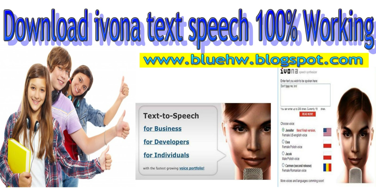 download ivona text to speech free ~ Android Game Blog