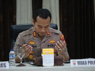 Kapolres Sukabumi Akbp Nuredy Pimpin Anev Bahas Situasi Kamtibmas Jelang Pilkada Sukabumi