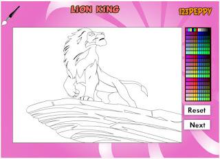 http://www.jogos360.com.br/lion_king_online_coloring_game.html
