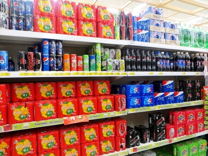 Баночные упаковки напитков
