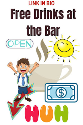 Free Drinks at the Bar
