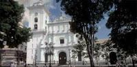 Primera iglesia de la ciudad de Caracas