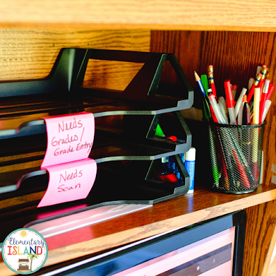 Organize your classroom or teacher space to help you feel more confident and save you time when looking for resources