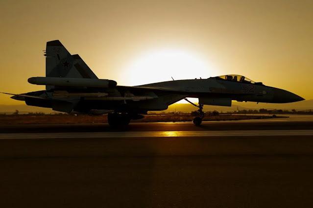 máy bay chiến đấu Su-35 và Su-57