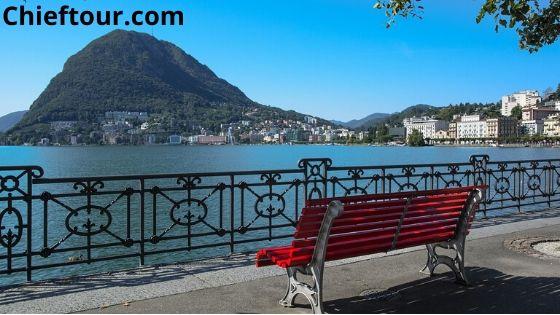 Lugano, beautiful places in Switzerland: