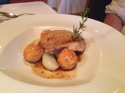 dinner, dinner Hotel Gartner, fish
